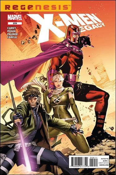 Couverture de X-Men Legacy (2008) -259- Half a step part 1