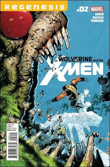 Couverture de Wolverine and the X-Men Vol.1 (Marvel comics - 2011) -2- Untitled
