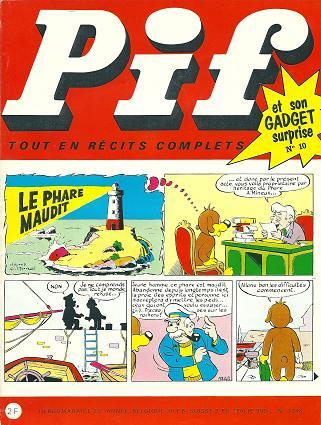 Couverture de Pif (Gadget) -10- Numéro 10