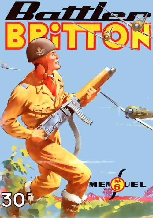 Couverture de Battler Britton -6- Le vol de la peur