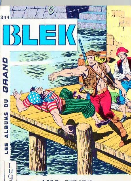 Couverture de Blek (Les albums du Grand) -344- Numéro 344