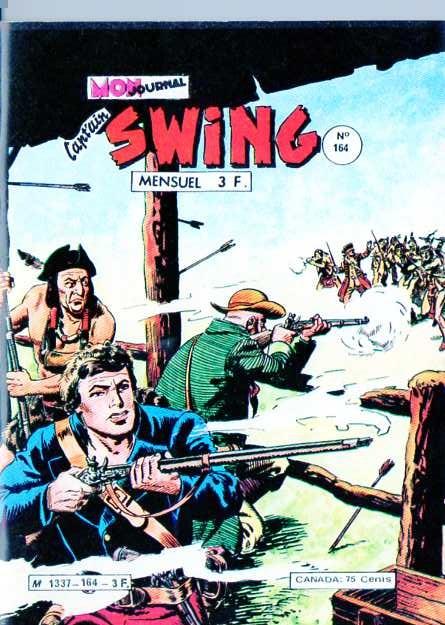 Couverture de Capt'ain Swing! (1re série) -164- Le traître