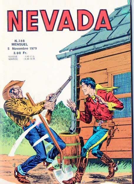 Couverture de Nevada (LUG) -388- Numéro 388