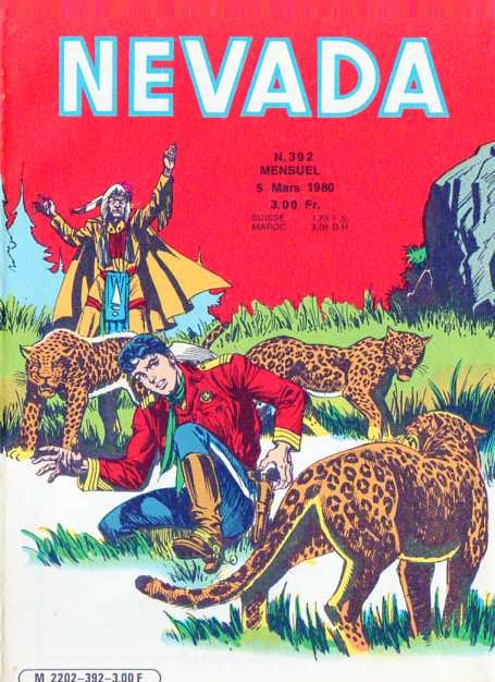Couverture de Nevada (LUG) -392- Numéro 392