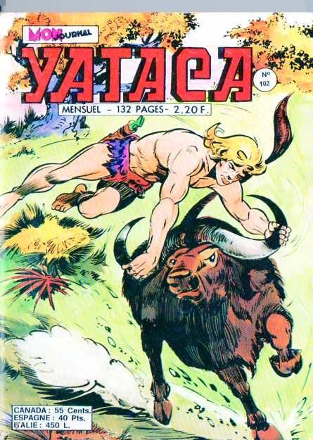 Couverture de Yataca (Fils-du-Soleil) -102- Les Dieux fous