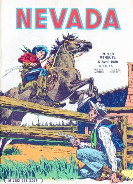 Couverture de Nevada (LUG) -393- Numéro 393