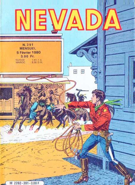 Couverture de Nevada (LUG) -391- Numéro 391
