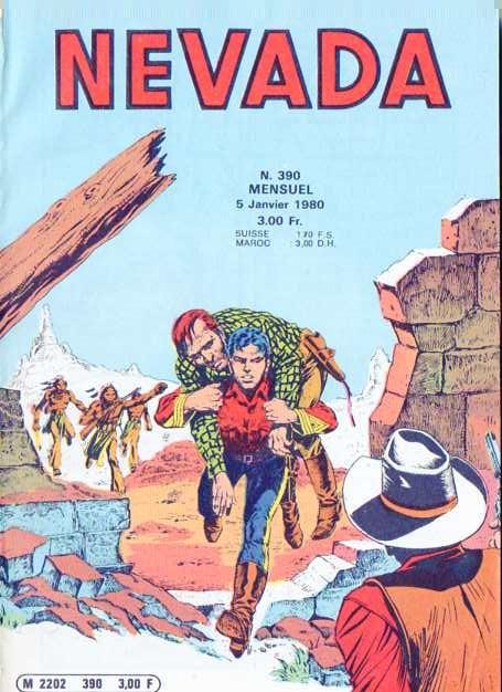 Couverture de Nevada (LUG) -390- Numéro 390
