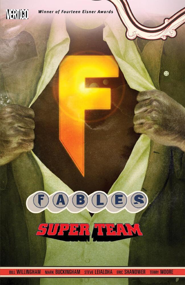 Couverture de Fables (2002) -INT16- Super Team
