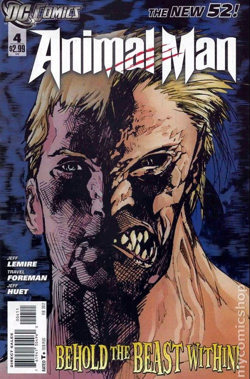 Couverture de Animal Man (2011) -4- Behold the beast within
