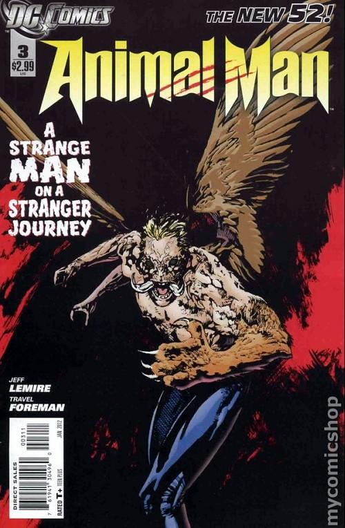 Couverture de Animal Man (2011) -3- A strange man on a stranger journey