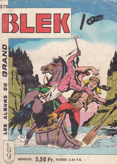 Couverture de Blek (Les albums du Grand) -375- Numéro 375