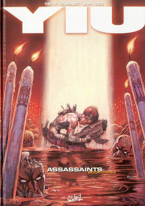 Couverture de Yiu -3- Assassaints