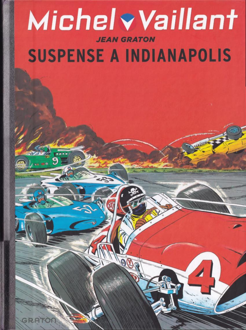 Couverture de Michel Vaillant (Dupuis) -11- Suspense à Indianapolis