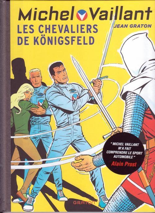 Couverture de Michel Vaillant (Dupuis) -12- Les Chevaliers de Königsfeld
