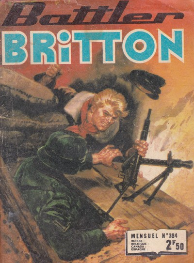 Couverture de Battler Britton -384- Objectif Allemagne !