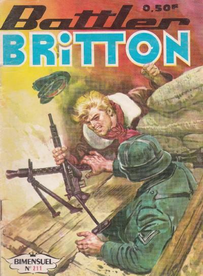 Couverture de Battler Britton -211- Les novices