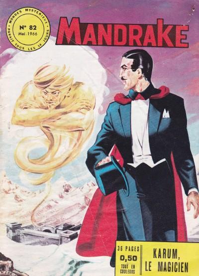 Couverture de Mandrake (1e Série - Remparts) (Mondes Mystérieux - 1) -82- Karum, le magicien