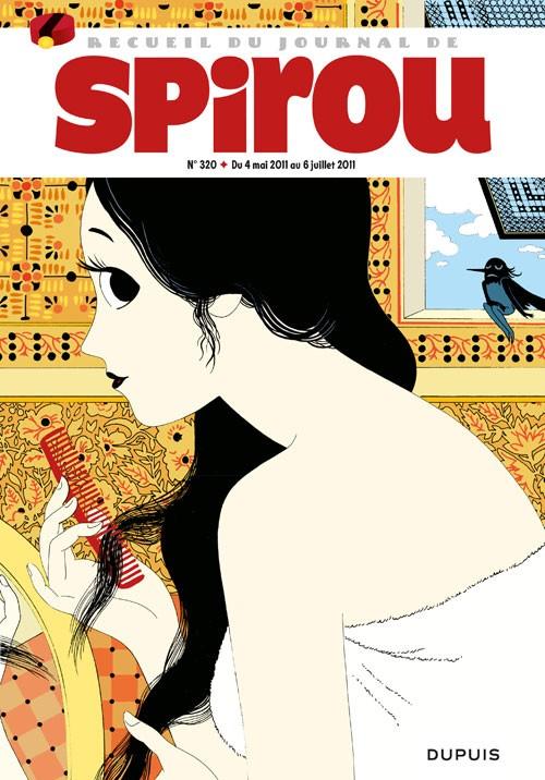 Couverture de (Recueil) Spirou (Album du journal) -320- Spirou album du journal
