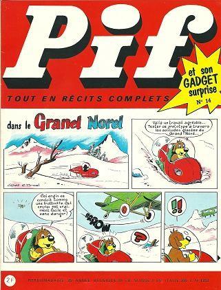 Couverture de Pif (Gadget) -14- Numéro 14