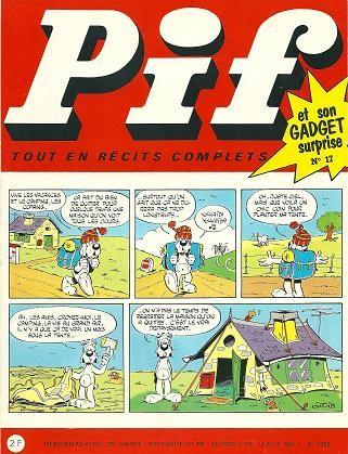 Couverture de Pif (Gadget) -17- Numéro 17