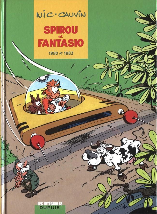 Couverture de Spirou et Fantasio -6- (Int. Dupuis 2) -12- 1980-1983