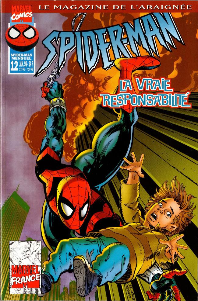 Couverture de Spider-Man (Marvel France 1re série - 1997) -12- La vraie responsabilité