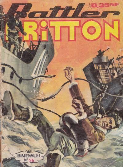 Couverture de Battler Britton -56- Contre le tyran