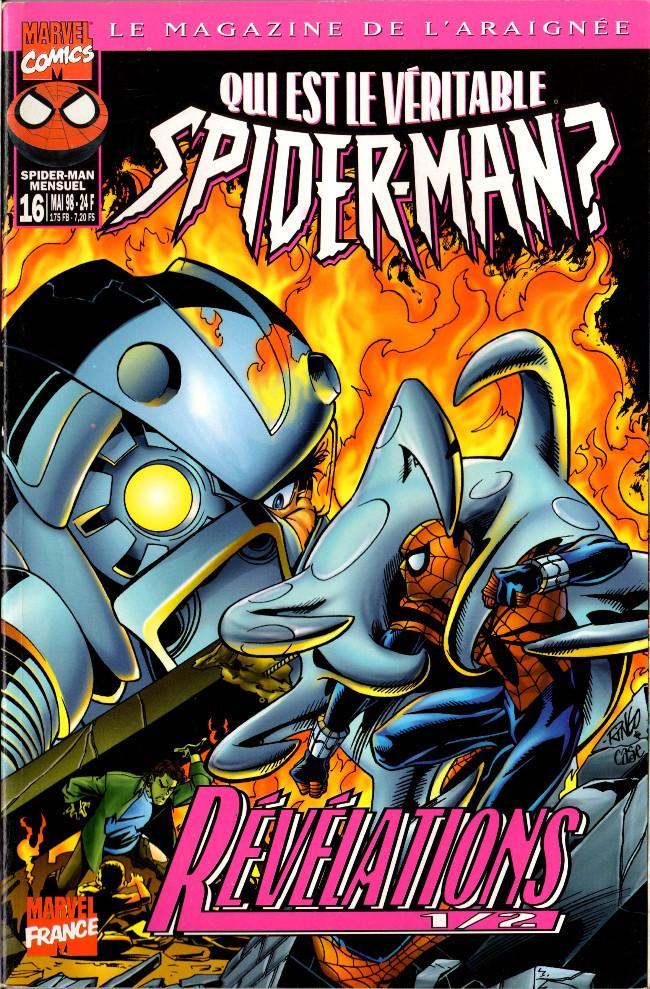 Couverture de Spider-Man (Marvel France 1re série - 1997) -16- Révélations