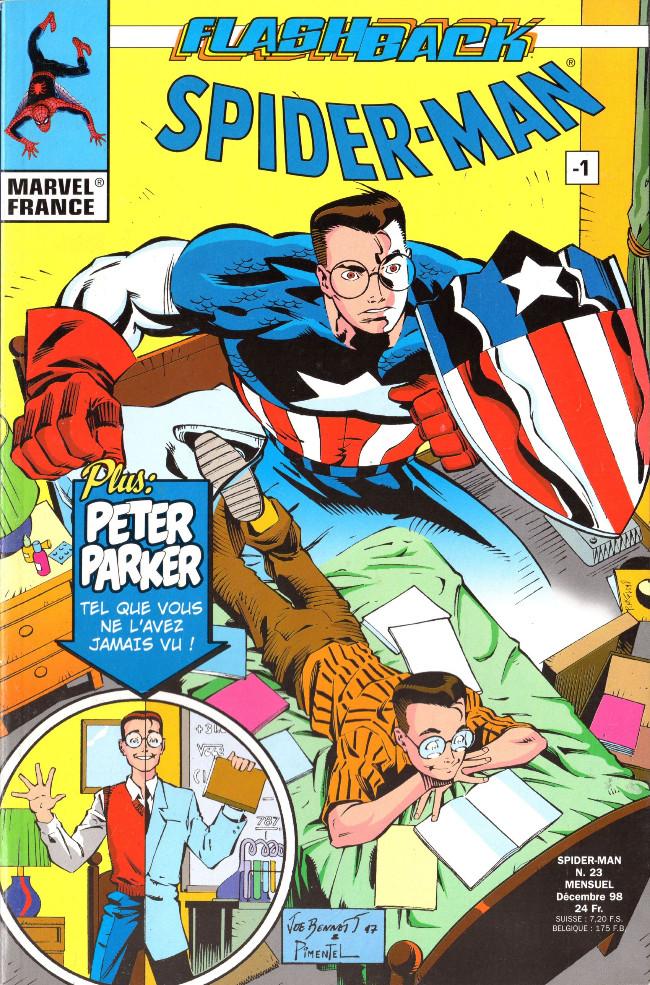 Couverture de Spider-Man (Marvel France 1re série - 1997) -23- Flashback Spider-Man