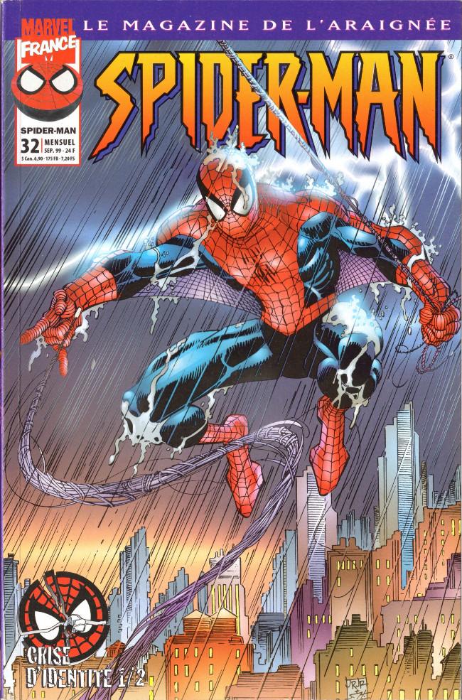 Couverture de Spider-Man (Marvel France 1re série - 1997) -32- Crise d'identité
