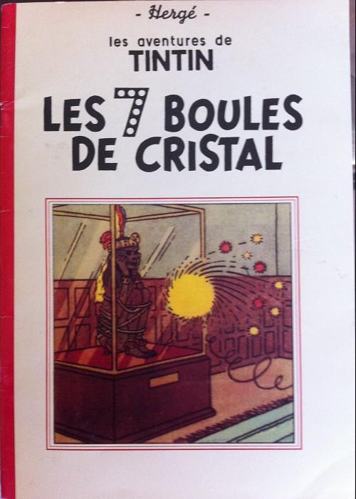 Couverture de Tintin - Pastiches, parodies & pirates -17PIR- Les 7 boules de cristal