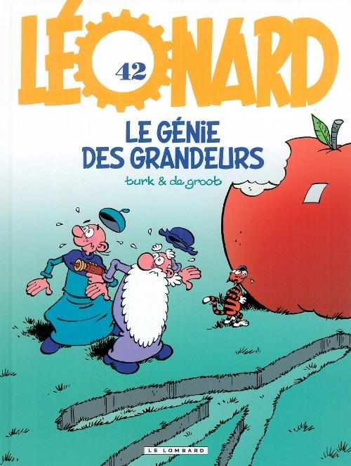 Couverture de Léonard -42- Le génie des grandeurs