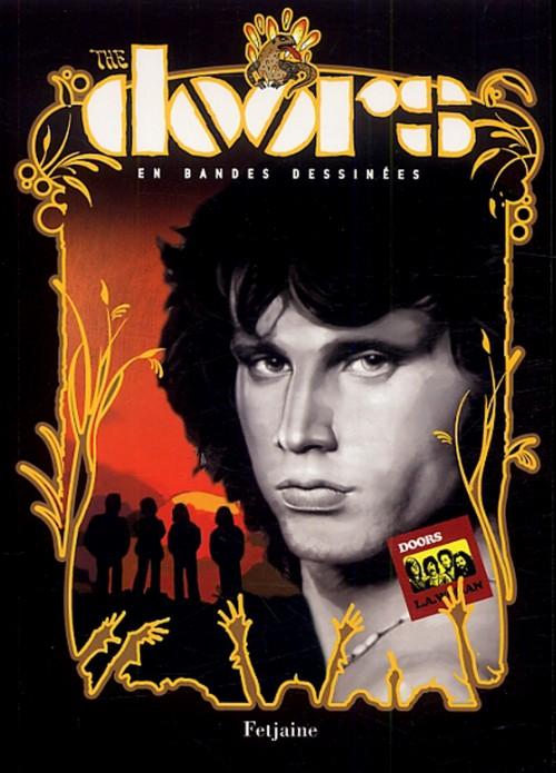 Couverture de Doors en Bandes Dessinées (The) - The Doors en Bandes Dessinées