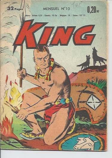 Couverture de King (Mondiales) -10- Matoaka la reine indienne