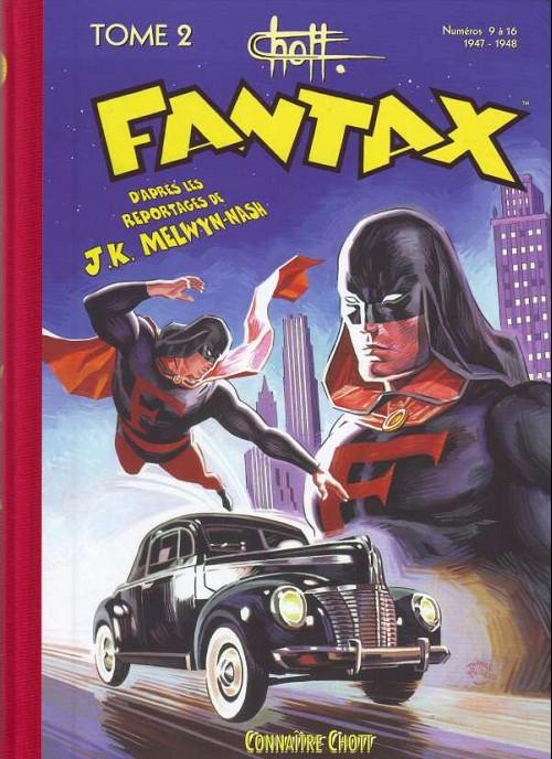 Couverture de Fantax (1re série) -INT2- Tome 2 (1947-1948)