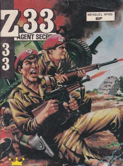 Couverture de Z33 agent secret -150- Un rêve fou