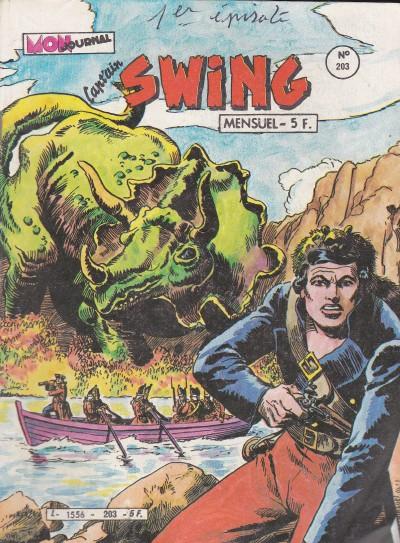 Couverture de Capt'ain Swing! (1re série) -203- La tragédie de la Numok River