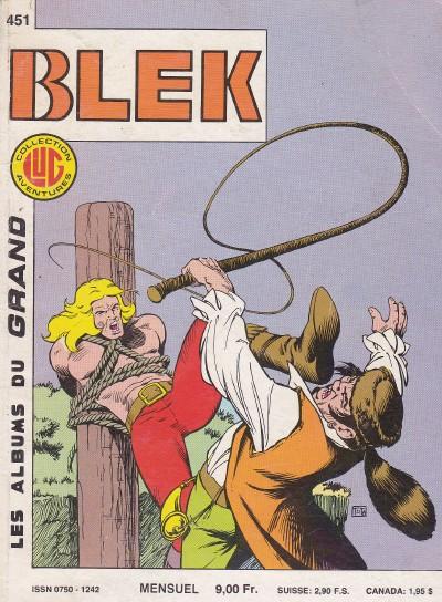 Couverture de Blek (Les albums du Grand) -451- La tragédie des tchackwashs
