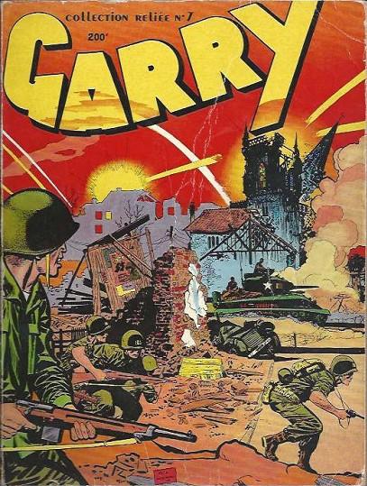 Couverture de Garry (Impéria) (2e série - 190 à 456) -Rec07- Collection Reliée N°7 (du n°61 au n°66)