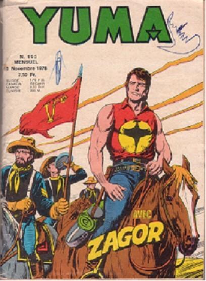 Couverture de Yuma (1re série) -193- Intrigue à Fort Safety