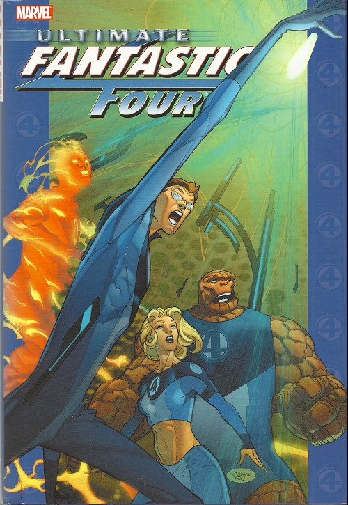 Couverture de Ultimate Fantastic Four (2004) -INT-4- Ultimate Fantastic Four vol. 4