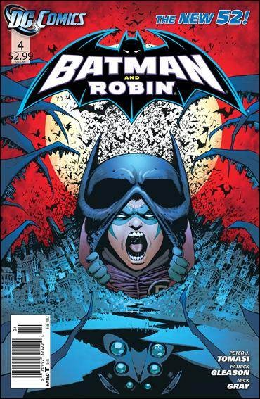 Couverture de Batman and Robin (2011) -4- Matter of trust