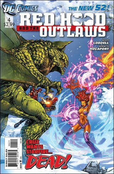 Couverture de Red Hood and the Outlaws (2011) -4- Come fly with me---- come die, just die away!