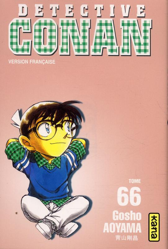 Couverture de Détective Conan -66- Tome 66