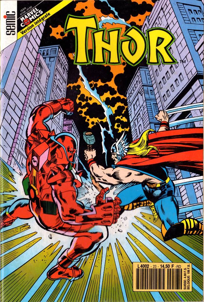 Couverture de Thor (3e Série - Lug/Semic) -23- Si mon destin est de mourir