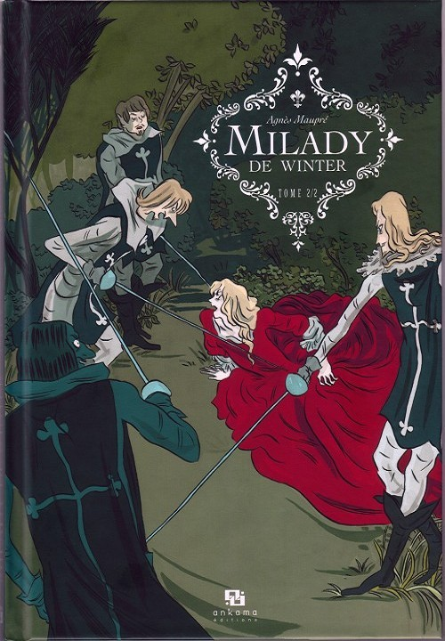 Couverture de Milady de Winter -2- Tome 2