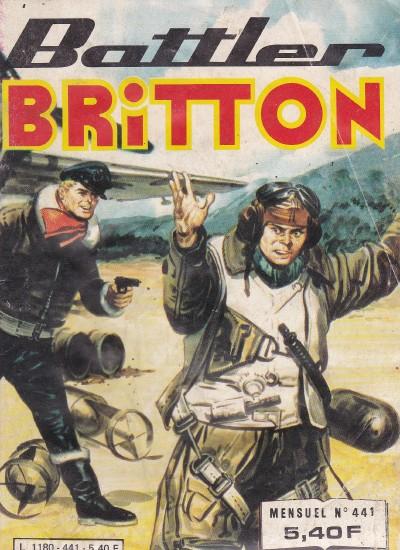 Couverture de Battler Britton -441- Via Paris