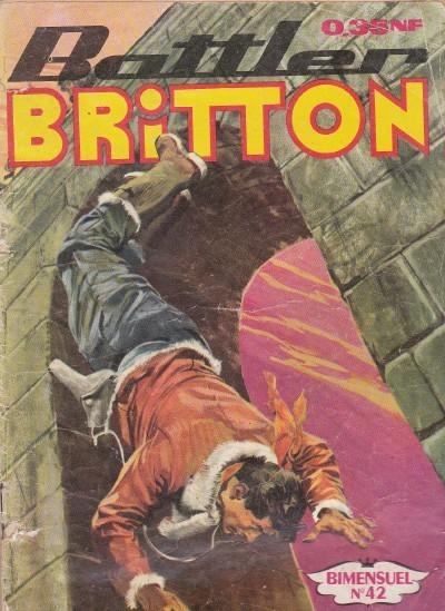 Couverture de Battler Britton -42- Bataille éclair