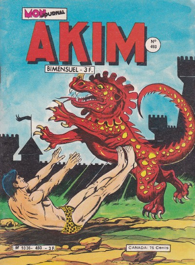 Couverture de Akim (1re série) -493- Le Royaume des Sang-Blanc